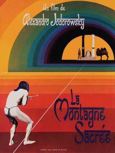 The Holy Mountain Vintage Original Movie Poster