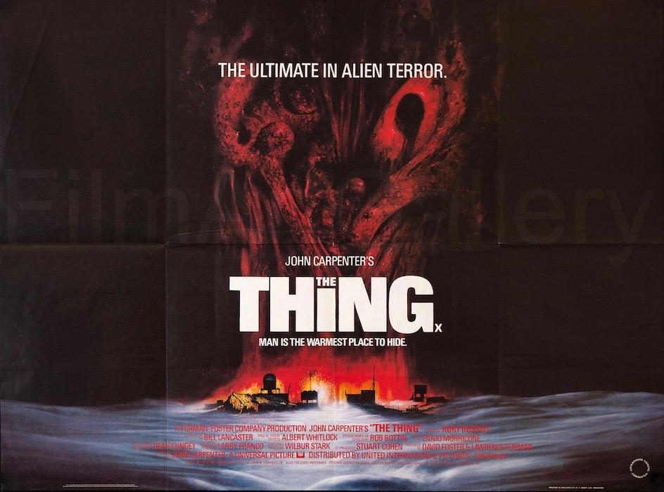 John Carpenter The Thing Original Vintage Movie Poster