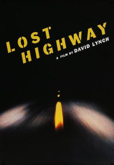 Lost Highway Original Vintage Movie Poster