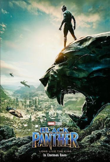 Black Panther Original Vintage Movie Poster