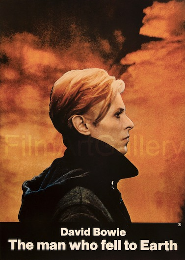 The Man Who Fell To Earth Original Vintage Movie Poster