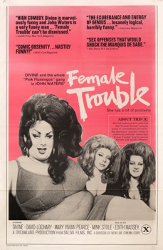 Female Trouble Vintage Movie Poster