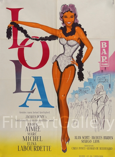 Lola Original Vintage Movie Poster