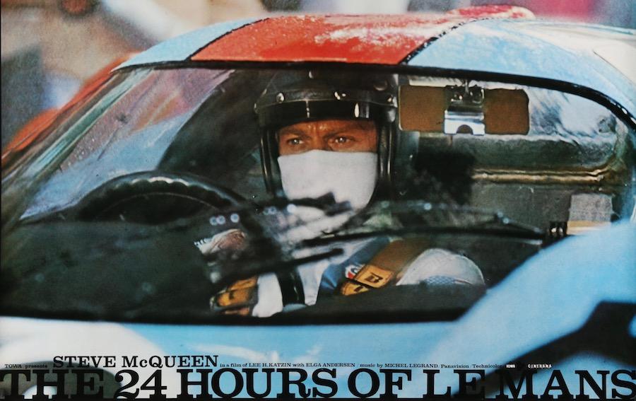 Steve McQueen Le Mans Original Vintage Movie Poster