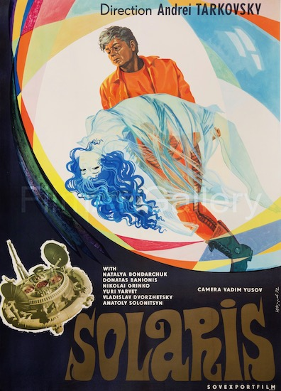 Solaris Vintage Original Movie Poster