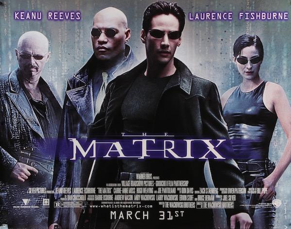 The Matrix Original Vintage Movie Poster