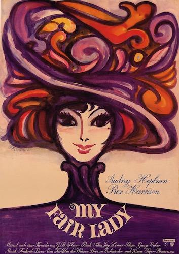 My Fair Lady Original Vintage Movie Poster
