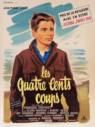 Les Quatre Cents Coups Original Vintage Movie Poster