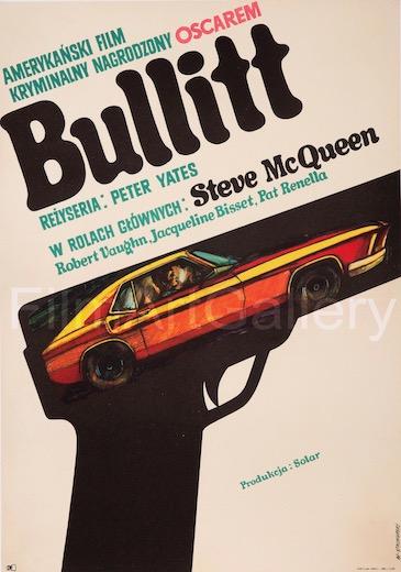 Bullitt Original Vintage Movie Poster