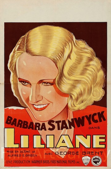 Baby Face Original Vintage Movie Poster