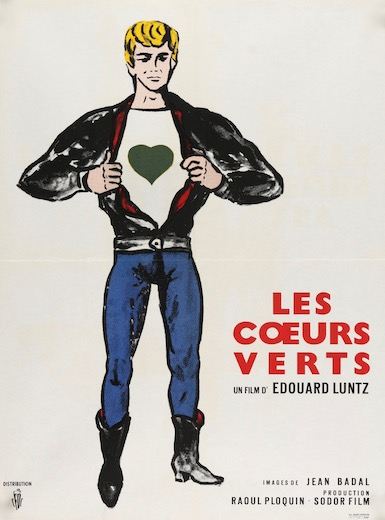 The Green Hearts Les Coeurs Verts Vintage Original Movie Poster