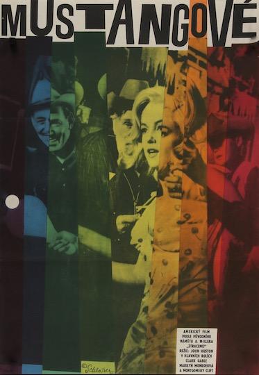 The Misfits Original Vintage Movie Poster
