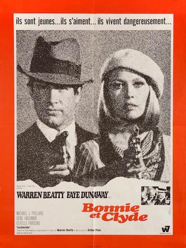 Bonnie and Clyde Original Vintage Movie Poster