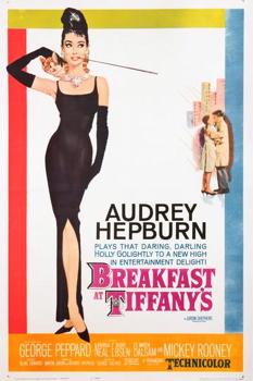 Audrey Hepburn Vintage Movie Poster