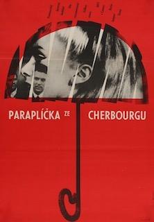 The Umbrellas of Cherbourg Original Vintage Movie Poster