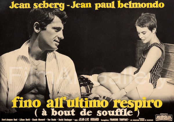 Breathless Vintage Movie Poster