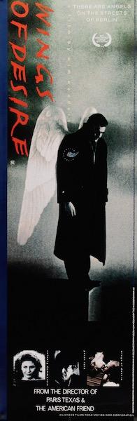 Wings of Desire Original Vintage Movie Poster