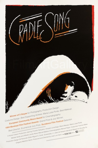 Saul Bass Cradle Song Original Vintage Movie Poster