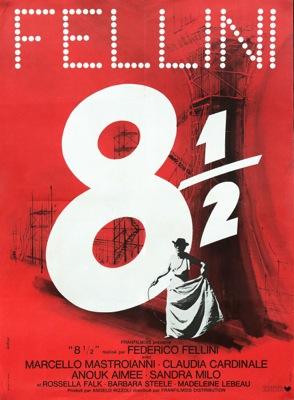 Frederico Fellini Vintage Movie Poster