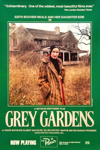 Grey Gardens Original Vintage Movie Poster
