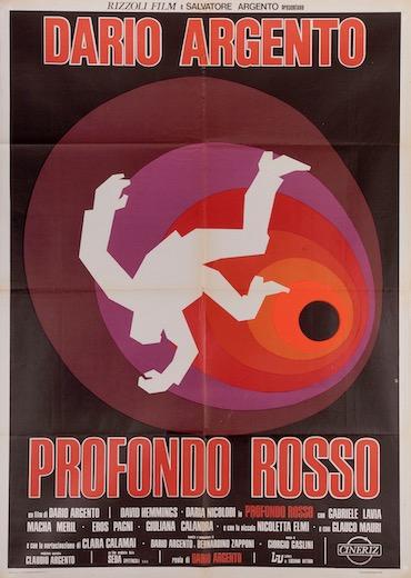 Deep Red Profondo Rosso Original Vintage Movie Poster
