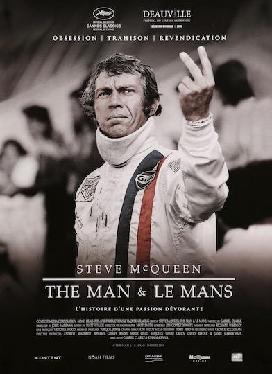 Steve McQueen Le Mans The Man Original Vintage Movie Poster