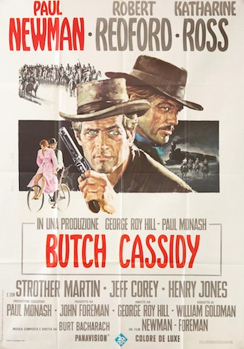 Butch Cassidy Original Vintage Movie Poster