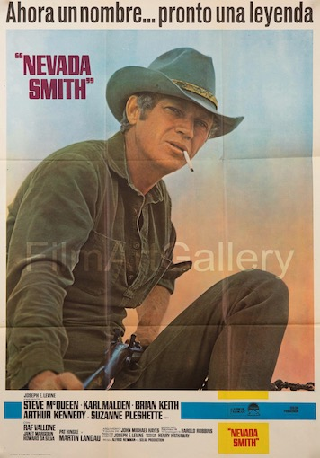 Nevada Smith Original Vintage Movie Poster
