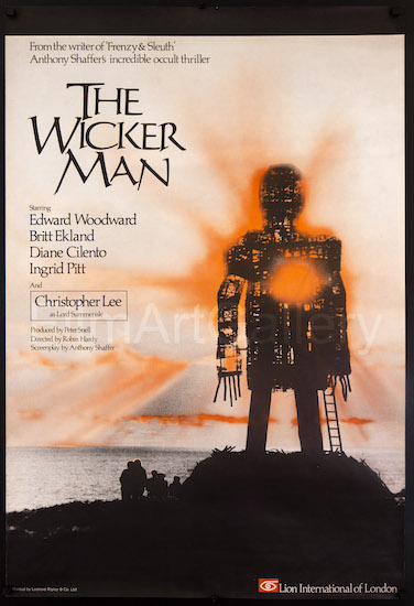 The Wicker Man Original Vintage Movie Poster