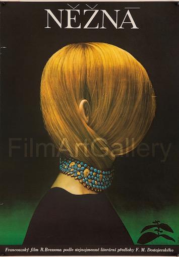 Une Femme Douce Nezna Original Vintage Movie Poster