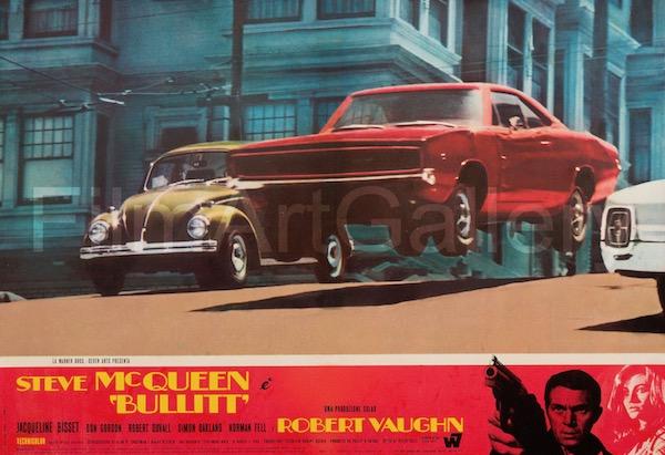Bullitt Vintage Movie Poster