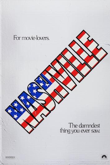 Nashville Original Vintage Movie Poster