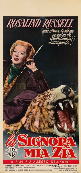 Auntie Mame Vintage Original Movie Poster