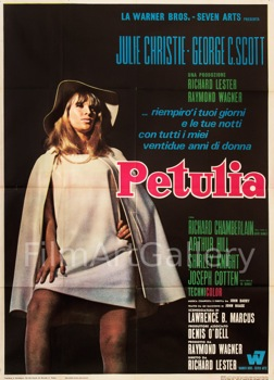 Petulia Original Vintage Movie Poster