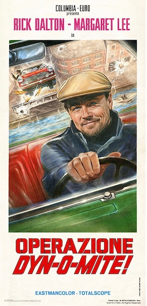 Once Upon a Time in Hollywood Original Vintage Movie Poster