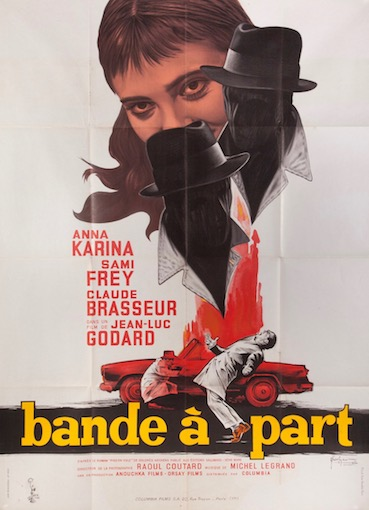 Band of Outsiders Bande a Part Original Vintage Movie Poster