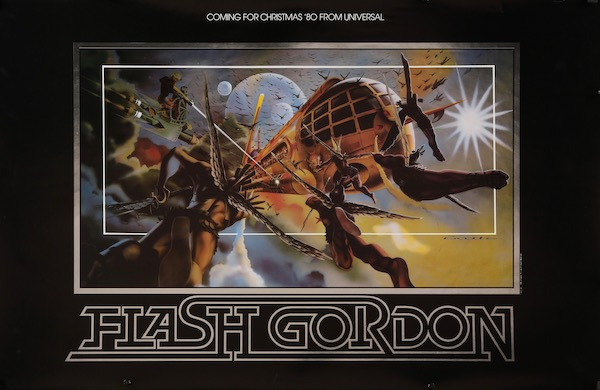 Flash Gordon Original Vintage Movie Poster