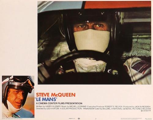 Le Mans Original Vintage Movie Poster