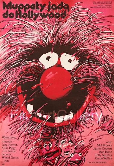The Muppet Movie Original Vintage Movie Poster