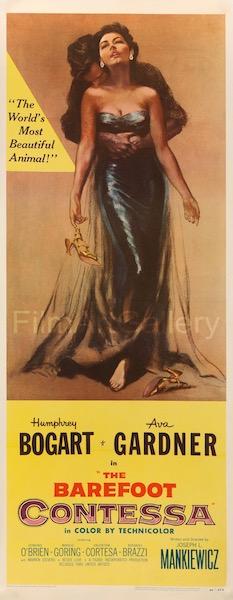 The Barefoot Contessa Original Vintage Movie Poster