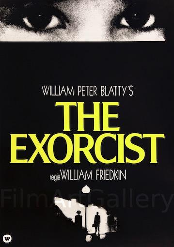 The Exorcist Original Vintage Movie Poster