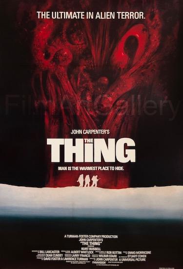 The Thing Original Vintage Movie Poster