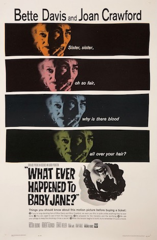 Whatever Happened To Baby Jane Original Vintage Movie Poster