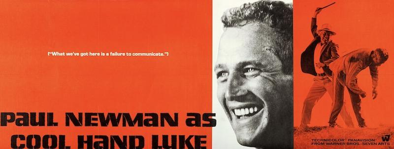 Cool Hand Luke Original Vintage Movie Poster