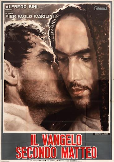 The Gospel According to Saint Matthew Original Vintage Movie Poster