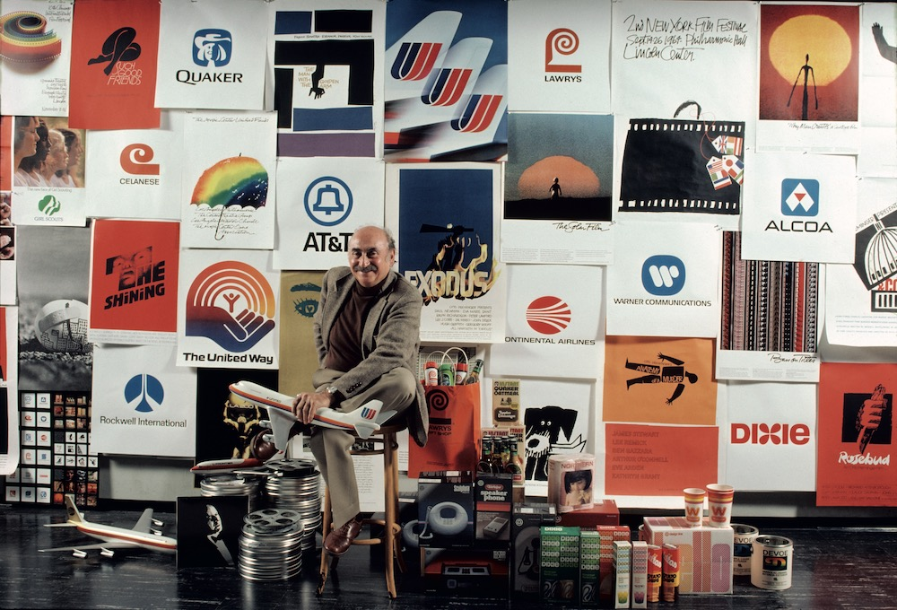 Saul Bass With Posters