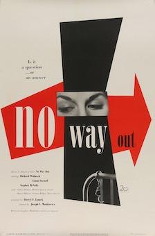 No Way Out Vintage Original Movie Posters