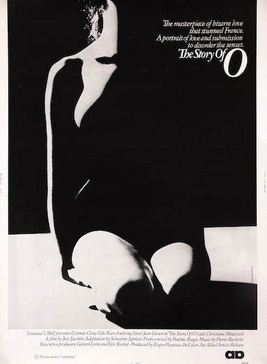 The Story of O Original Vintage Movie Poster