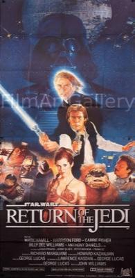Return of the Jedi Original Vintage Movie Poster