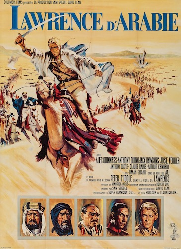Lawrence of Arabia Original Vintage Movie Poster
